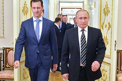 Путин на встрече с Асадом рассказал об интересах России в Сирии