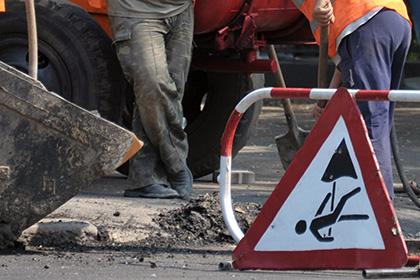 В центре Москвы рабочие выкопали скелет из-под асфальта