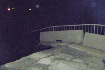 В Архангельской области обрушился мост через Вагу