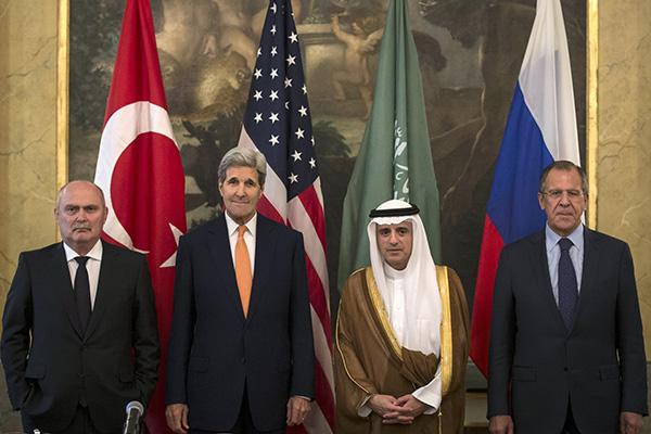 Сергей Лавров в Вене обсудил с коллегами ситуацию на Ближнем Востоке: Политика: Мир: