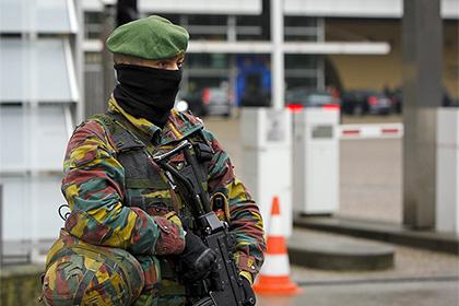 Неизвестный на машине пытался прорваться на территорию воинской части в Бельгии