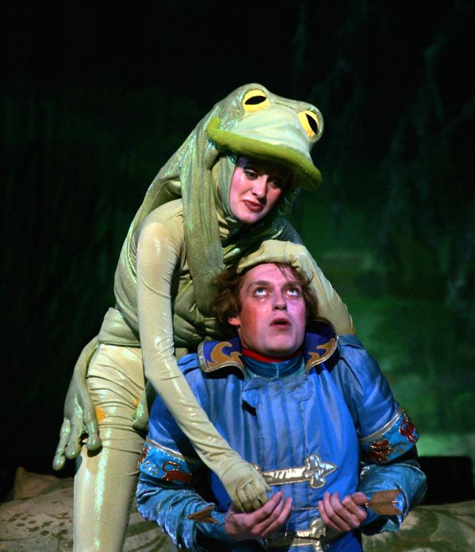 Царевна-Лягушка детский спектакль  в Омске
