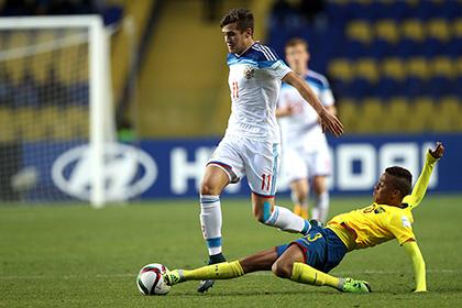 Сборная России по футболу проиграла Эквадору в 1/8 финала юношеского ЧМ