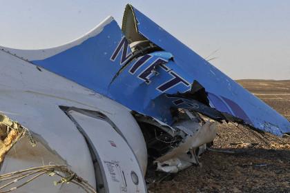 Штатская агентура считает первопричиной крушения русского самолета над Египтом бомбу