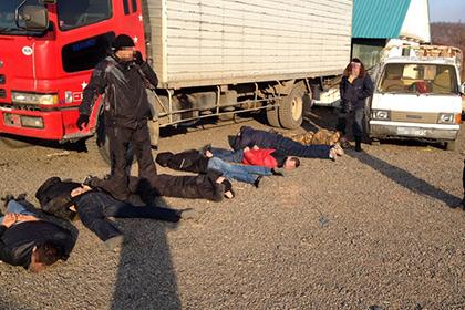 В Хабаровском крае арестованы похититители кедровых орехов