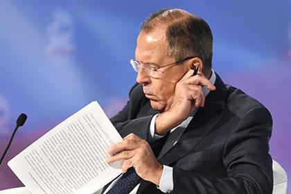 Лавров назвал уничтожение Су-24 попыткой сорвать венские переговоры по Сирии
