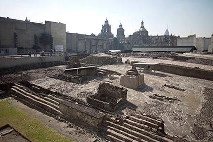 Археологи нашли тоннель в пирамиде ацтеков Уицилопочтли