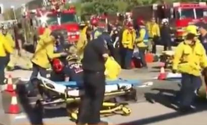 СМИ сообщили о взрывном устройстве на месте стрельбы в Калифорнии