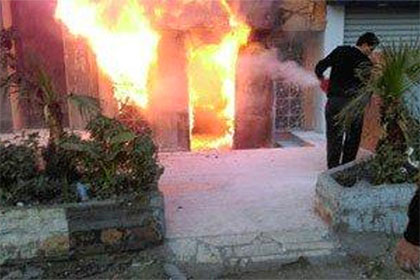 Египетский бомбист сжег 16 человек коктейлем Молотова