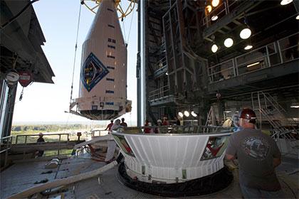 Запуск американского грузовика Cygnus к МКС второй раз отложен
