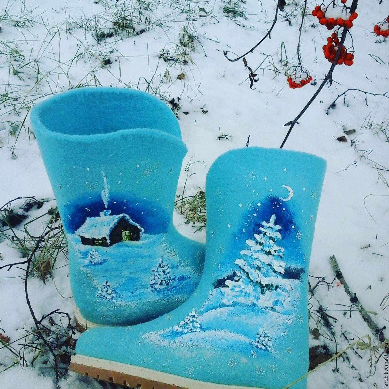Дети о зиме и о валенках