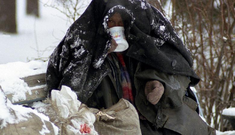 В Омске была убита бездомная женщина за попытку найти кров